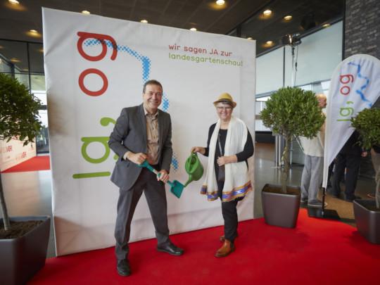 Fotoaktion zur Landesgartenschaubewerbung Offenburgs